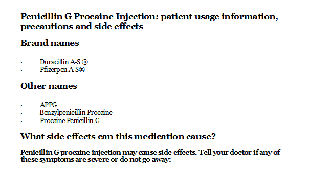 Lincocin Injection Side Effects